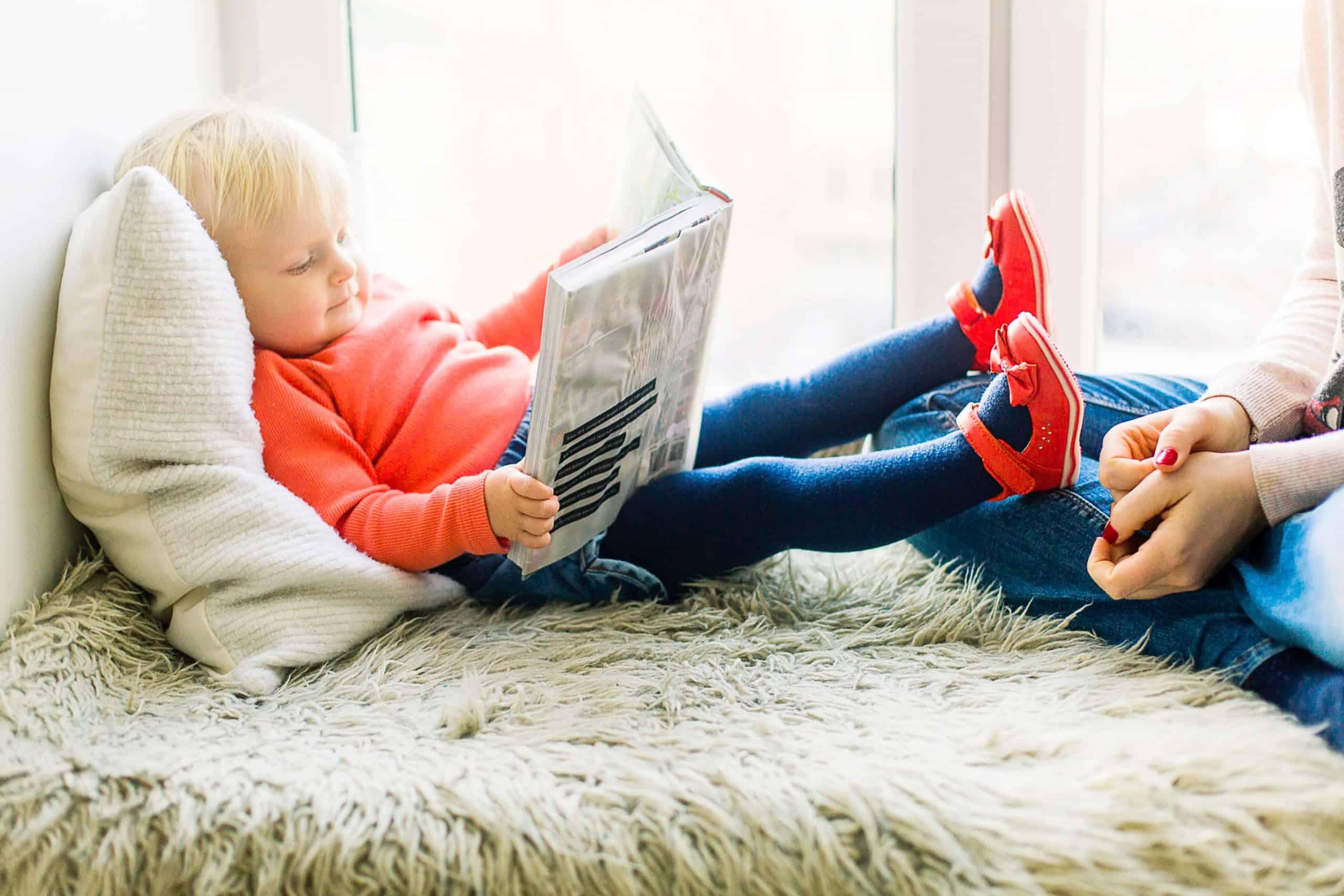 Toddler Reading Poems